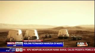 Mars One Kirim Orang Menetap Di Mars