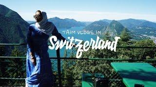 Switzerland Vlogs   كسرت رجلي للمرة الثانية والسيندرلا أمي في لوجانو ولوسيرن