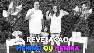 REVELAÇÃO - MENINO OU MENINA - SEGUNDA GRAVIDEZ - Flavia Calina
