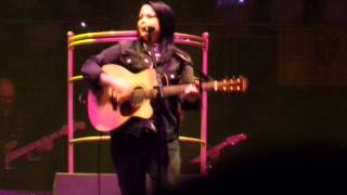 Lucy spraggan at 02 arena 2015