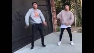 Zion Kuwonu & Edwin Honoret Dancing