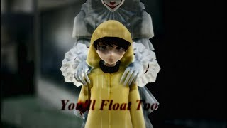 [MMD] [IT] You'll Float Too [MEME] [Pennywise & Georgie]