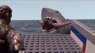"""""""Quint Gets Devoured"""" Jaws Scene Reenactment"""