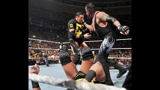 undertaker beating 12 guys in the ring the whole nexus