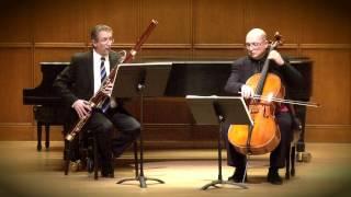 Mozart: Allegro - Sonata For Bassoon And Cello in B-Flat Major   Kroth, Bagratuni
