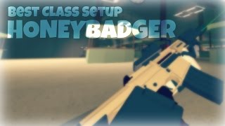 HONEYBADGER (Best Class Setup) | ROBLOX Phantom Forces [BETA]