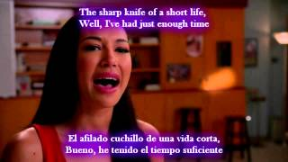 Glee - If I die young / Sub spanish with lyrics