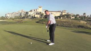 How to groove the correct angle of attack