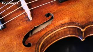 Musical Instruments Sale Highlight: An Italian Violin c. 1700 ascribed to G.P.Maggini,Brescia.