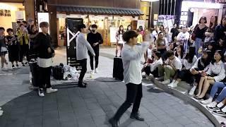 JHKTV] 홍대댄스hong dae street dance  PMP team not'  today
