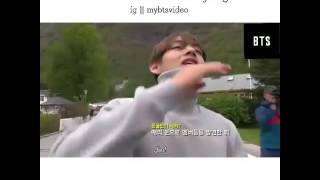 Jin suga jungkook ignore V in cute way