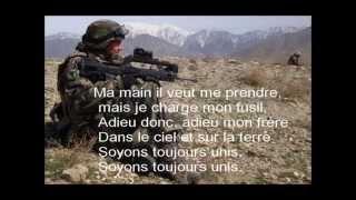 chant militaire j'avais un camarade [paroles]