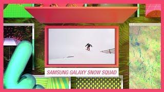 MTV Amplifica   Samsung Galaxy Snow Squad