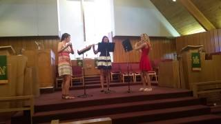 Crown of Roses-flute trio