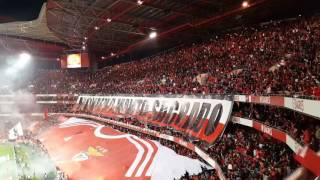 BENFICA vs Porto  (Coreografia e hino) 01/04/2017