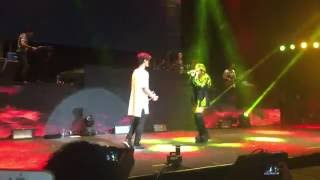 Lali Esposito //Mueve Abraham Mateo ft Lali // SOY TOUR CHILE //  1 Diciembre 2016 //