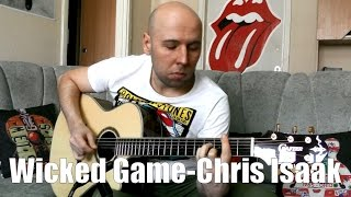 Wicked Game - Chris Isaak Fingerstyle Guitar Cover