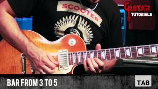 Stop (Joe Bonamassa) - Last Solo - Guitar Tutorial with Matt Bidoglia