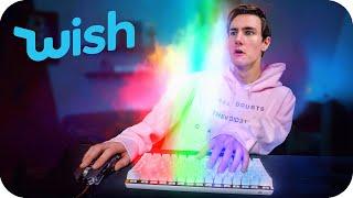 $20 Weird Futuristic Gaming Keyboard from Wish..