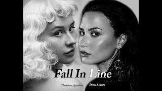 Christina Aguilera - Fall In Line ft Demi Lovato (snippet)