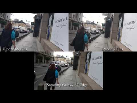 Comparativ iPhone 7 Plus vs 6S Plus vs Samsung Galaxy S7 Edge