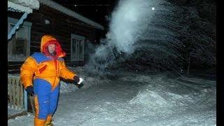 Oymyakon, Yakutia, Siberia,  the worlds coldest place width=