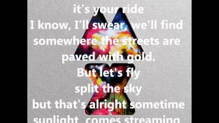 U.F.O - Coldplay [lyrics]