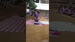 Kgbv school (panchalingala at kurnool) childrens peramides  performance