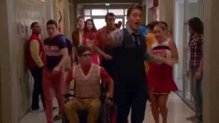 Full Performance of  Blurred Lines  from  The End Of Twerk    GLEE