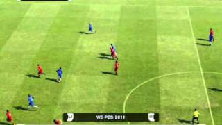 Pes 2011 Online - Liverpool vs Chelsea - Gerrard Great Goal