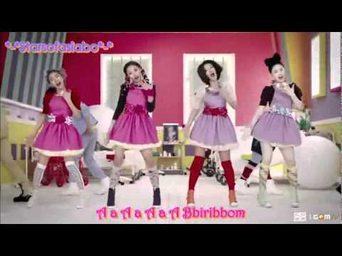 Bbiribbom Bbaeribbom En Espanol de Co Ed School Letra y Video