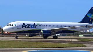 [SBFZ/ FOR] Pouso & Decolagem RWY13 Airbus A320-214 PR-AJB Azul Linhas Aéreas 03/08/2018
