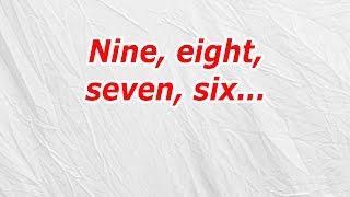 Nine, Eight, Seven, Six (CodyCross Answer/Cheat)