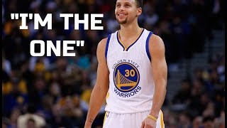 "Stephen Curry-""I Am The One"""