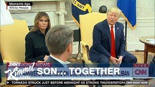 Trump Wants to Ban Vaping to Protect Melania's Son
