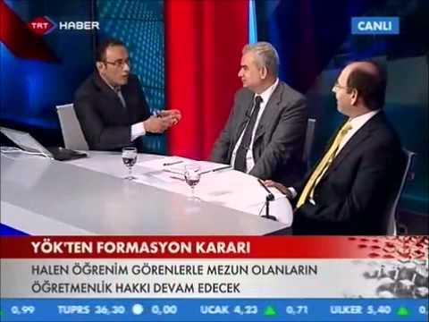Formasyon Kararı TRT Haber'de Konuşuldu