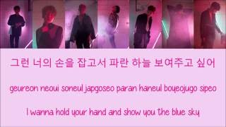 Monsta X - Because of U [Hang, Rom & Eng Lyrics]