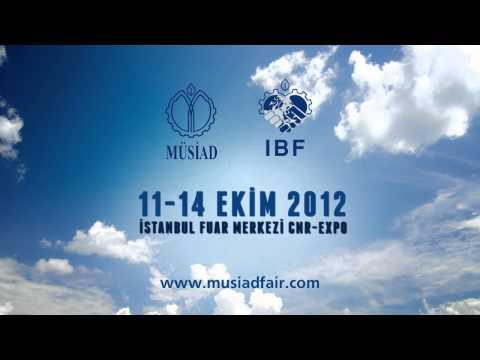 MUSIAD Fuar Tanıtımı (2012) Türkçe