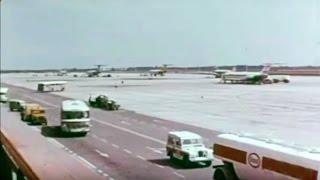 1968 Mejoras en el Aeropuerto de Barcelona El Prat - Nuevas pistas, instalaciones y accesos