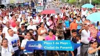 Concentración y Clamor de Iglesias Evangélicas de Panamá - 21 de Noviembre de 2015