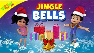 Jingle Bells Christmas Song for Kids | Hindi Songs for Children | Vir | Wow Kidz