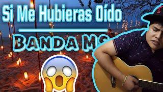 Si me hubieras oído Banda MS | cover | Xavier Montalvo
