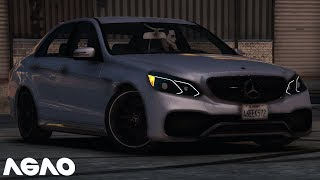 GTA 5 Mercedes E63 AMG | Busta Rhymes - Touch It (Deep Remix)