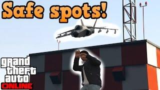 Safe spots! - GTA online guides