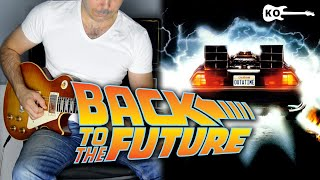 Back To The Future Theme - Electric Guitar Cover by Kfir Ochaion