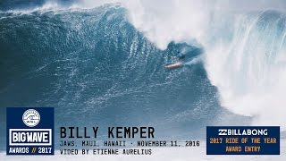 Billy Kemper at Jaws - 2017 Billabong Ride of the Year Award Nominee - WSL Big Wave Awards
