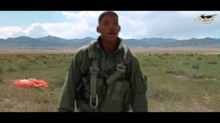 Will Smith rap - Party Starter in Independent's Day 4K (Ultra HD)