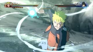 You Say Run goes with everything: Naruto VS Sasuke - NSUNS 4 (SPOILERS)