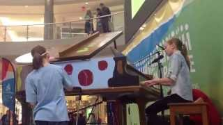 'Stay' cover at the Mall of America.