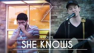 She Knows - LIVE @ Starbucks [J Cole Cover]